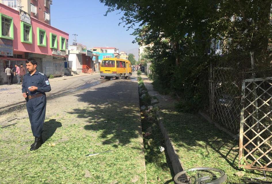 Bomba explode em ônibus deixando um morto e dez feridos em Cabul