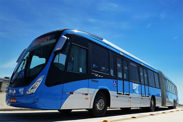 Prefeito do Rio anuncia a compra de mais de 150 ônibus para o BRT da Cidade Maravilhosa
