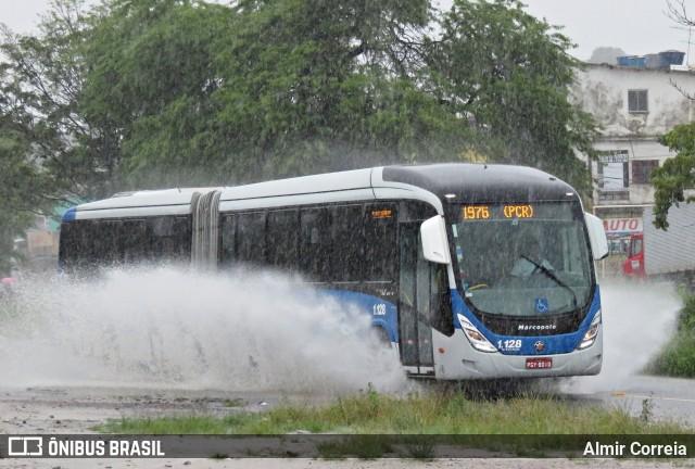 Chuva prejudica a circulação de ônibus na Região Metropolitana do Recife