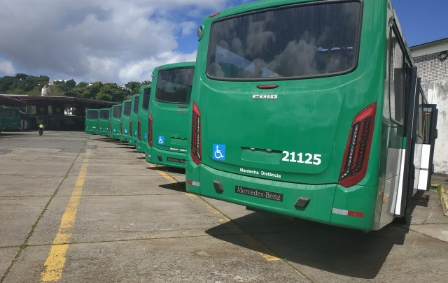 Novos ônibus devem começar operar em Salvador no dia 10 de agosto