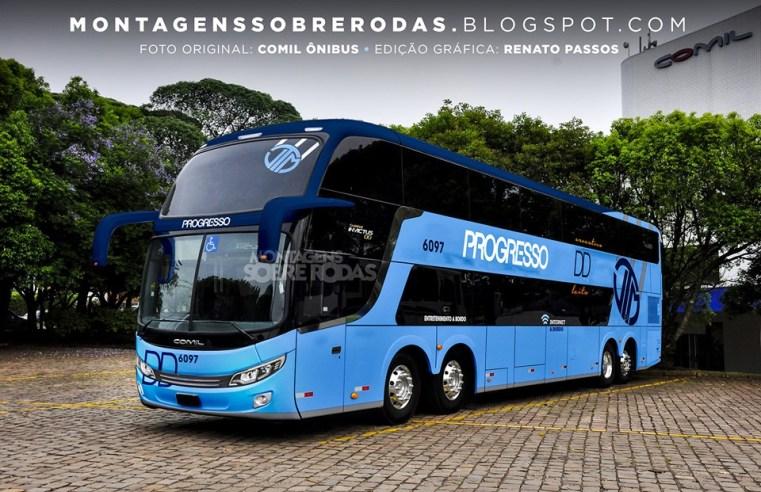 Auto Viação Progresso renovará parte da frota com ônibus Comil