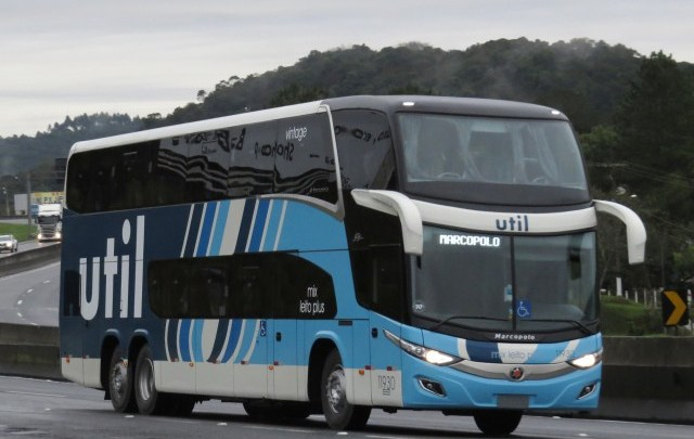 Util adquire mais três novos ônibus Paradiso New G7 1800DD