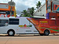 HemoAcre divulga calendário de coleta com ônibus