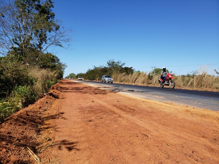 Em Tocantins BR-153 passa por manutenção