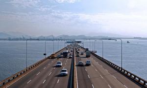 Valor do pedágio da Ponte Rio x Niterói é mantido pela AGU