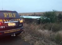 Ônibus tomba na BR-472 deixando um morto e diversos feridos no RS