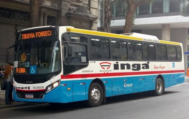 RIO: Viação Ingá é a primeira a oferecer pagamento com cartão de crédito, débito e por aproximação