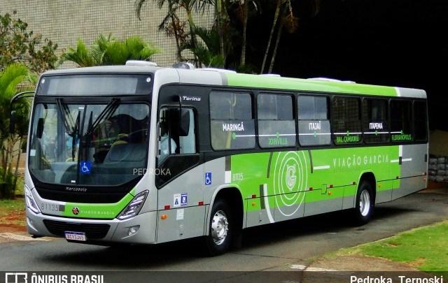 Motorista de ônibus da Viação Garcia é procurado pela polícia após esfaquear homem no Paraná