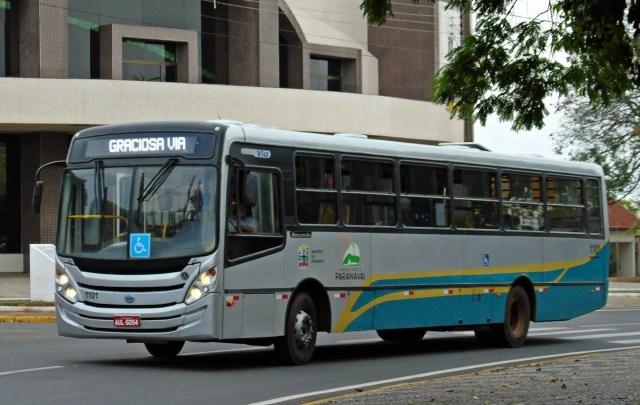 Tarifa de ônibus em Paranavaí aumentará dia 20