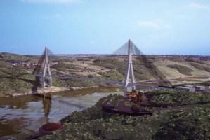 Obras da construção da Ponte da Integração começam nesta quarta-feira em Foz do Iguaçu