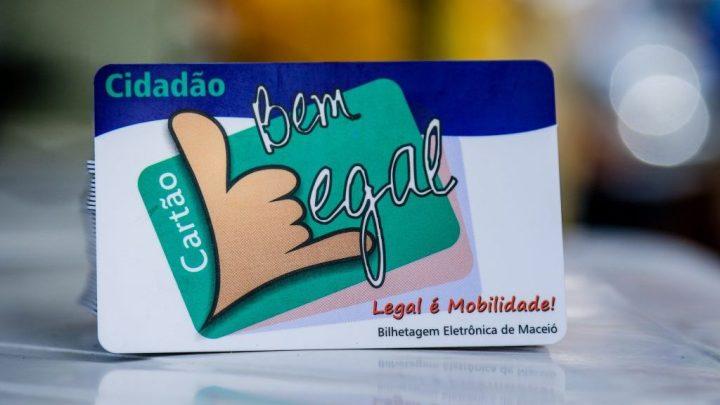 Maceió passa emitir Cartão Bem Legal de forma gratuita