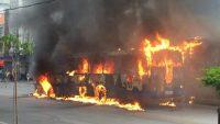 Incêndios em ônibus na Grande Recife serão investigado por comissão