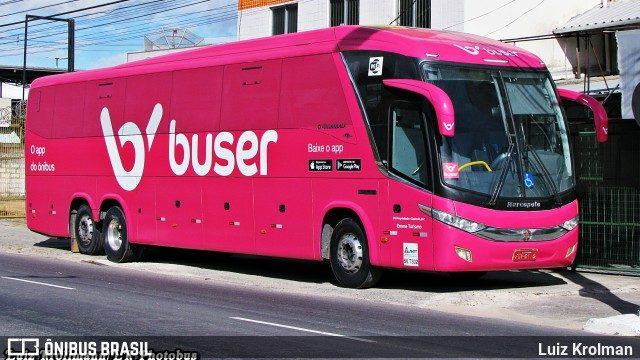 BH: Fiscais da ANTT impedem ônibus fretado pela Buser de seguir viagem para Vitória