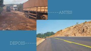 PA: Dnit finaliza obras de pavimentação da BR-163