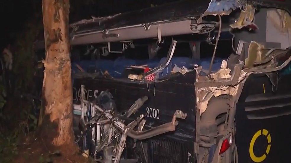 Identificadas as vítimas do acidente com ônibus da Viação Cidade Sol no Sul da Bahia
