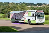 Ônibus Museu e ônibus Palco estarão neste fim de semana no Parque Barigui em Curitiba