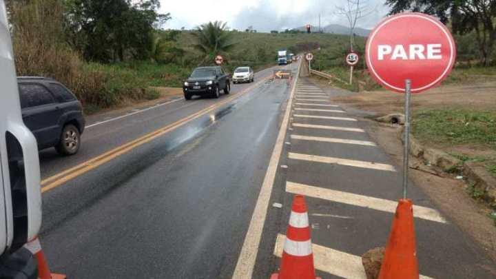 BA: BR-101 segue com novas datas de interdições na ponte sobre o Rio Jequitinhonha