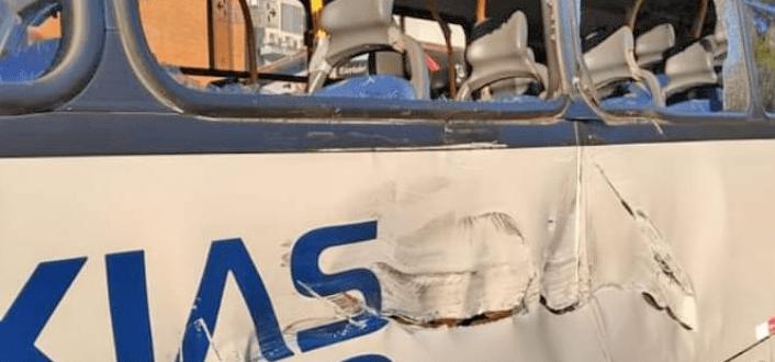 Homem furta ônibus da empresa Visate em Caxias do Sul