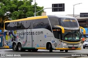 Rode Rotas chama atenção no Rio de Janeiro escalando ônibus LD