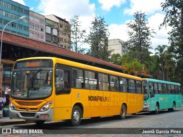 RJ: Chuva e lama prejudica linhas de ônibus em Nova Friburgo