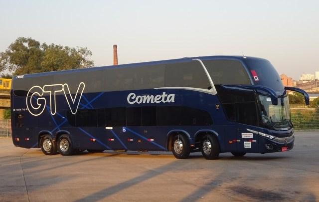Viação Cometa começa operar com seus novos Double Deck