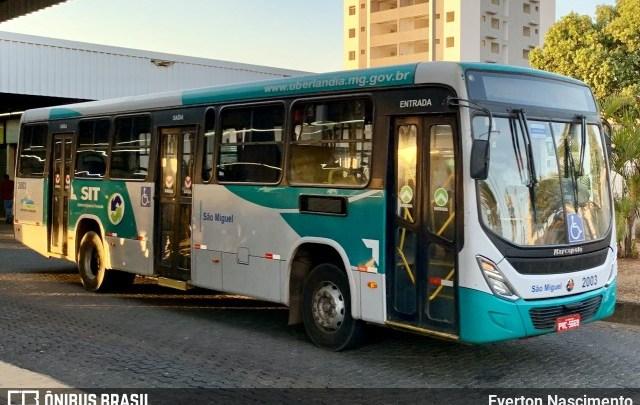 MG: Viação São Miguel teve 19 ônibus retidos pela justiça em Uberlândia