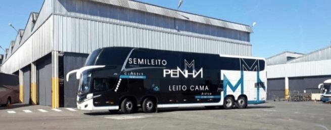 Penha renova parte de sua frota com ônibus leito e semi-leito