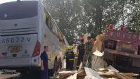 Acidente na China deixa 36 mortos e outros 36 feridos