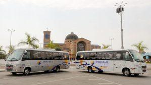 Santuário de Aparecida e Frei Galvão ganham serviço de ônibus