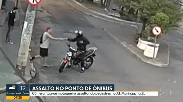 Aumenta o número de assaltos em pontos de ônibus na Zona Leste de São Paulo