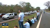 SP: Fumaça fecha rodovia na Região de Ribeirão Preto