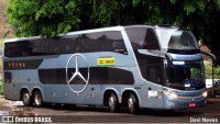 Unida Mansur começa testar ônibus Double Decker