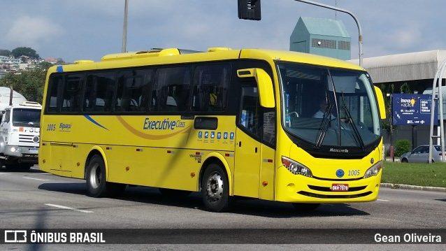 Rodoviários dos ônibus amarelinhos fazem paralisação em Florianópolis