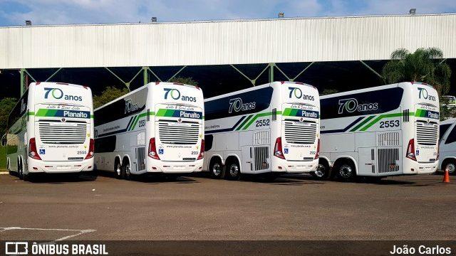 Planalto Transportes se prepara para operação com seus novos ônibus DD 8×2
