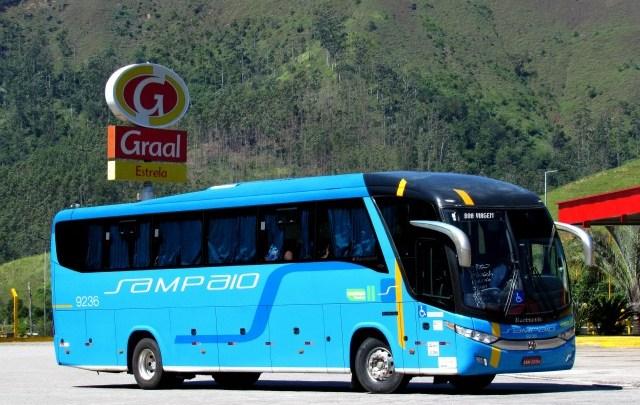 Viação Sampaio escala ônibus extra na Rio x Aparecida nesta sexta-feira