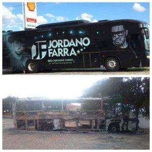 Bandas de Forró do Ceará falam em prejuízo de R$ 170 mil após ataque a ônibus