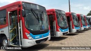 MS: Entrega de 20 novos ônibus de Campo Grande é adiada por conta de chuva forte