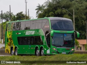 Eucatur começa receber novos ônibus Busscar