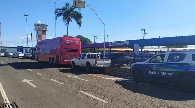 Ônibus do Buser é apreendido no Centro-Oeste nesta quarta-feira 23