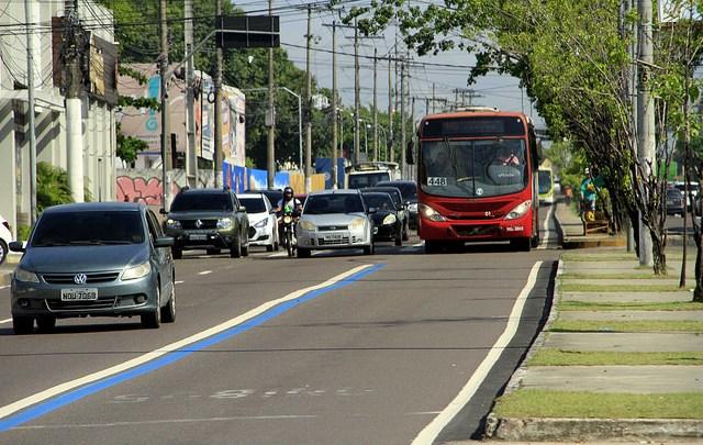 Manaus: TJAM decide por permanência de via exclusiva para ônibus