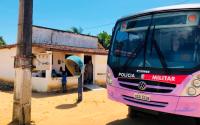 PB: Ônibus Lilás da Patrulha Maria da Penha atende mulheres em Lucena