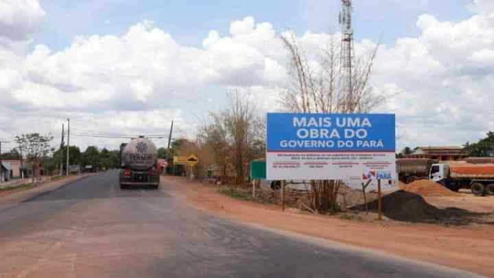 Estradas: Obras na rodovia PA-150 terá custo de R$ 75 milhões