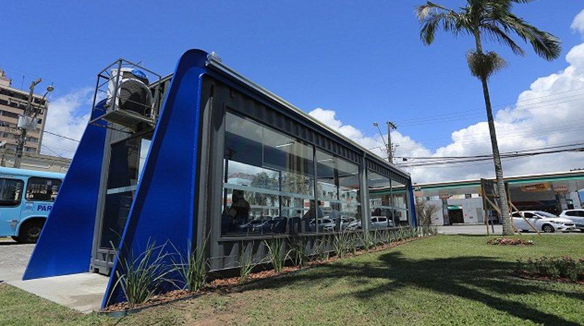 Mini terminal de ônibus é disponibilizado em Paranaguá