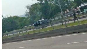 RJ: Vídeo mostra arrastão na BR-101 em São Gonçalo