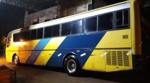 Receita Federal Apreende dois ônibus piratas em Foz do Iguaçu