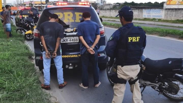 ES: Assaltantes são presos pela PRF em Cariacica