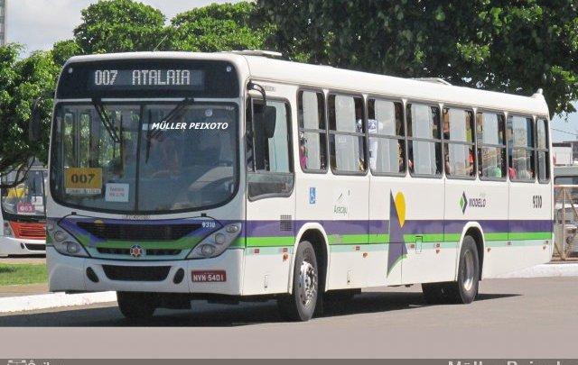 Aracaju: Passageiro acaba baleado durante assalto a ônibus