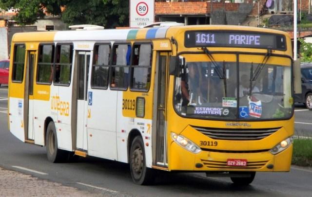 Ônibus circulam normalmente a noite em Salvador diz sindicato