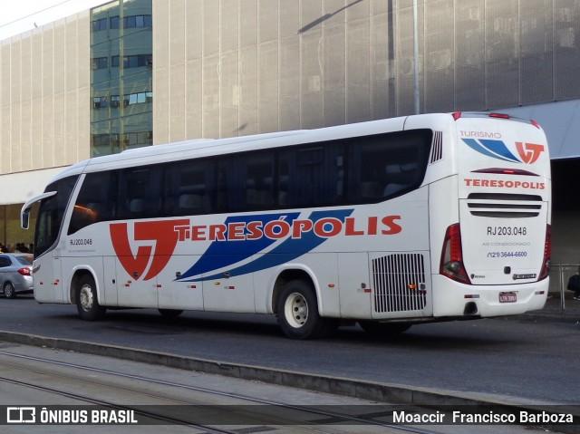 Viação Teresópolis com fluxo intenso de passageiros por conta do Rock in Rio