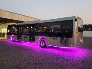 Viação Sambaíba segue com ônibus do Outubro Rosa em São Paulo